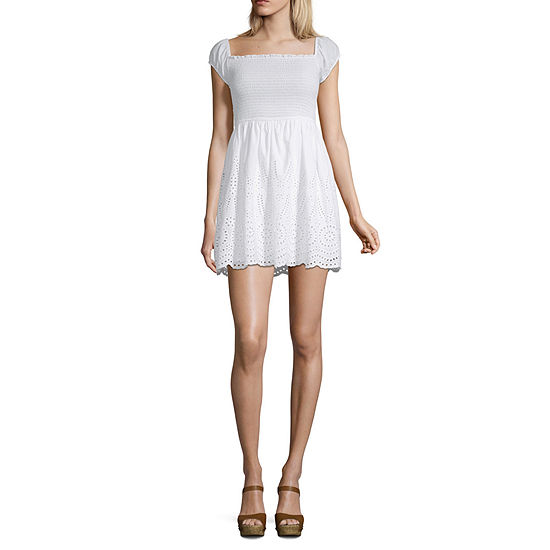 Inspired Hearts-Juniors Short Sleeve Dress Set