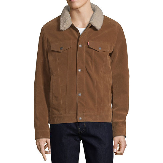 Levi's Faux Suede Midweight Motorcycle Jacket