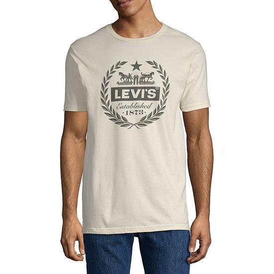 Levi's Mens Crew Neck Short Sleeve T-Shirt