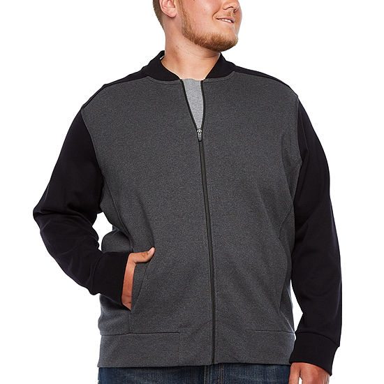 The Foundry Big & Tall Supply Co. Midweight Bomber Jacket Big and Tall