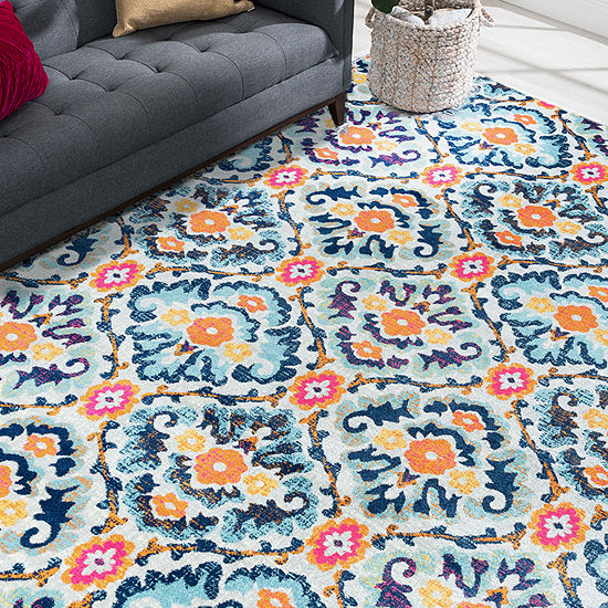 Tayse Eloise Indoor Rectangular, Round & Runner Rugs