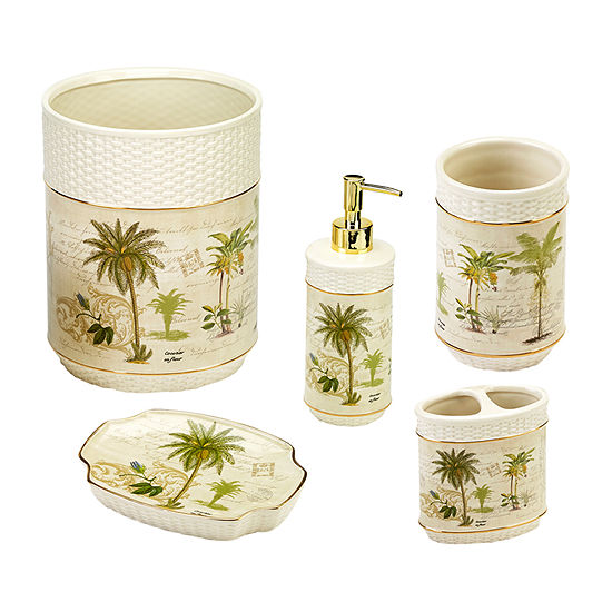 Avanti Colony Palm 5-pc. Bath Accessory Set