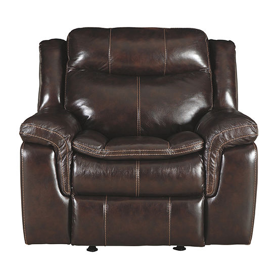 Signature Design by Ashley® Lockesburg Pad-Arm Recliner