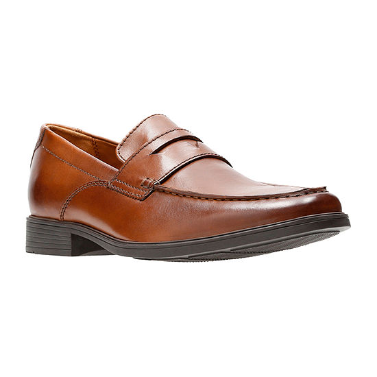 Clarks Mens Tilden Way Loafers