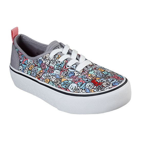 Skechers Bobs Womens Marley Woof Posse Oxford Shoes Lace-up Closed Toe