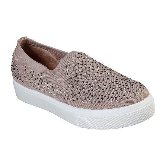 Skechers Poppy Womens Sneakers Slip-on