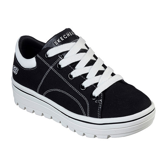 Skechers Street Cleat Womens Lace-up Sneakers