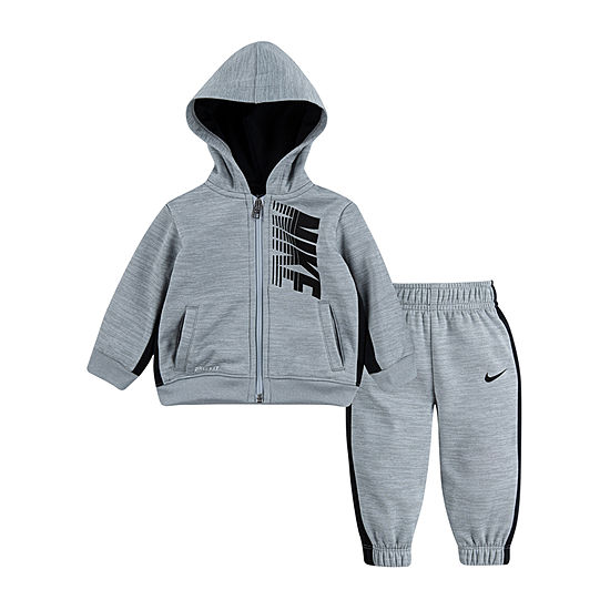 Nike Therma Boys 2-pc. Logo Pant Set Toddler
