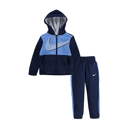 Nike Therma Toddler Boys 2-pc. Pant Set, 3t , Blue