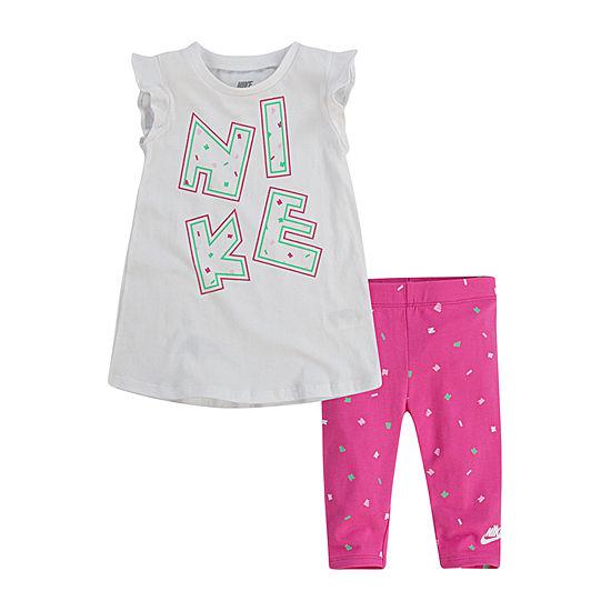 Nike Girls 2-pc. Legging Set-Toddler