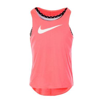 Nike Girls Round Neck Tank Top