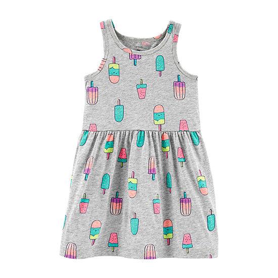 Carter's Sleeveless Babydoll Dress - Toddler Girls