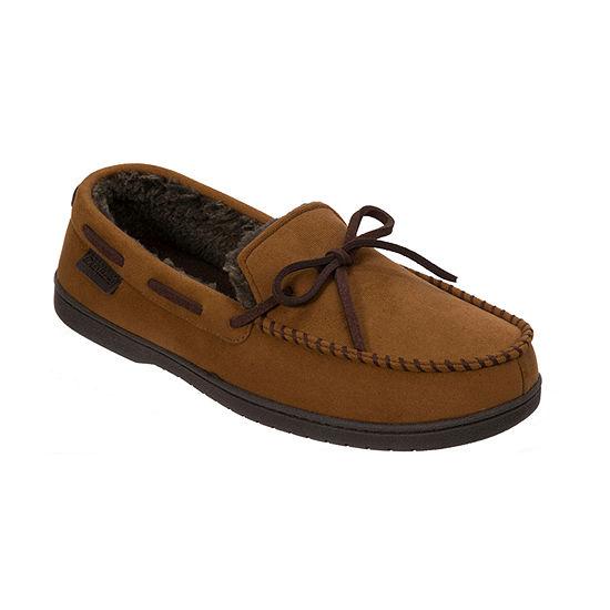 Dearfoams® Microsuede Moccasin Slipper