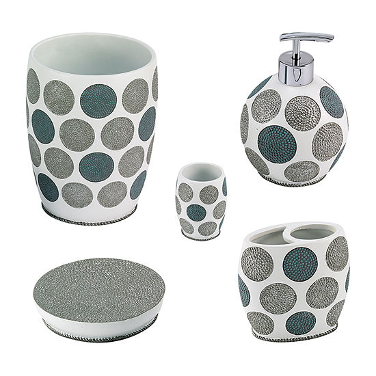 Avanti Dotted Circles 5-pc. Bath Accessory Set