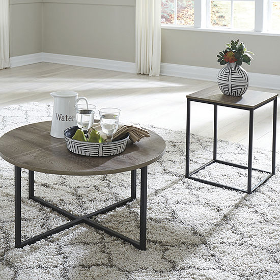 Signature Design by Ashley Wadeworth Coffee Table Set