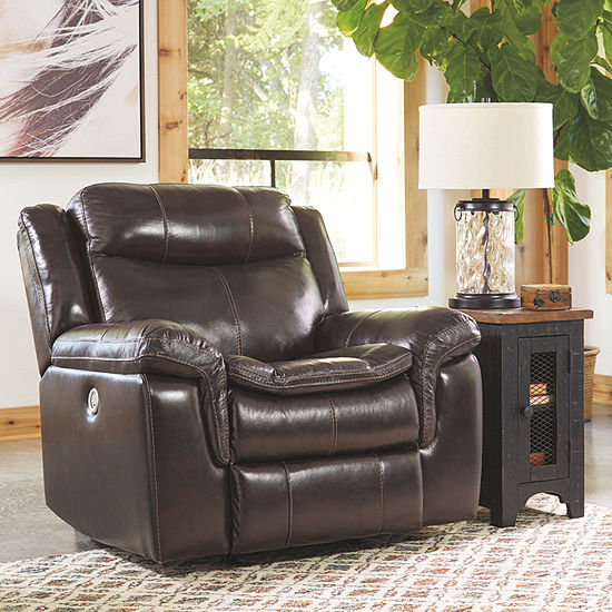 Signature Design by Ashley® Lockesburg Pad-Arm Power Recliner
