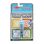 Melissa & Doug Water Wow 4 Pack (Pets  Colors  Fairy Tale And Makeup)