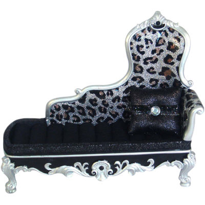 Leopard Print Sofa Jewelry Box