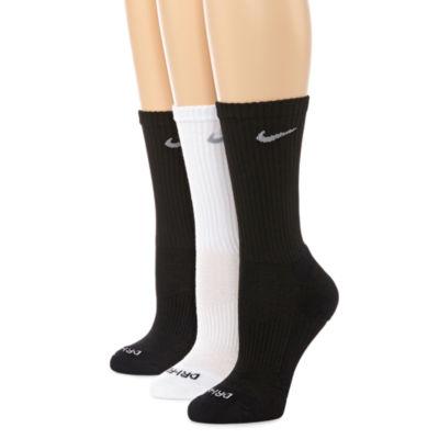 Nike® Dri-FIT 3-pk. Crew Socks