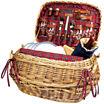 Picnic Time® Highlander Picnic Basket – Service for 4
