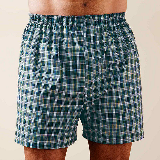 Stafford® 3-pk. Woven Blended Boxers–Big & Tall