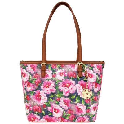 St. John's Bay Sjb Floral Charm Tote Tote Bag