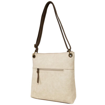 St. John's Bay Zippered Crossbody Crossbody Bag