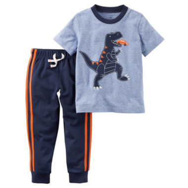 Carter's 2-pc. Stripe Pant Set Baby Boys