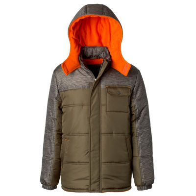 Puffer with Space Dye Print- Boys Toddler