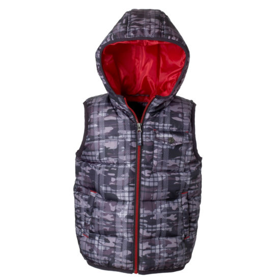 Camo Print Heavyweight Vest- Boys 8-20