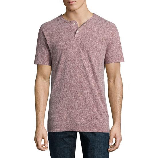e6824a868a21c Arizona Mens Short Sleeve Henley Shirt - JCPenney