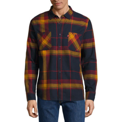 Levi's® Denhall Long Sleeve Flannel Shirt