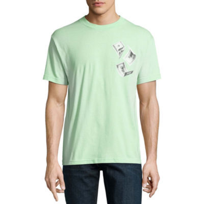 Novelty Season Mens Crew Neck Short Sleeve Graphic T-Shirt
