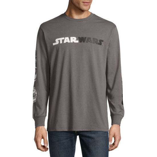 Long Sleeve Star Wars Tv + Movies SW Dark Fight LS Graphic T-Shirt