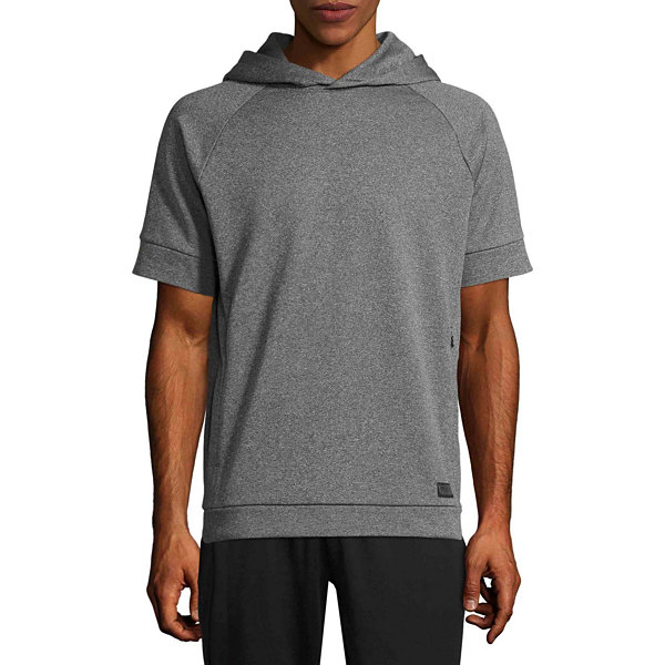 Msx By Michael Strahan Short Sleeve Knit Hoodie