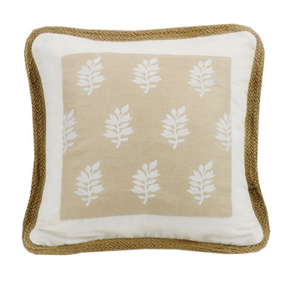 Hiend Accents 18x18 Framed Bed Rest Pillow