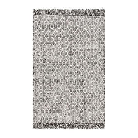 nuLoom Edris Tassel Hand Tufted Handmade Area Rug, One Size , Gray