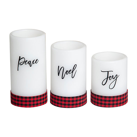 Apothecary Home Décor 3-pc. Flameless Candle
