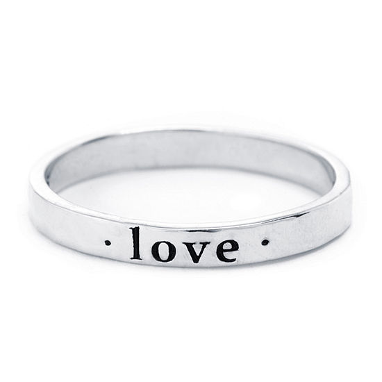 Silver Treasures Silver Treasures Womens 2.5MM Sterling Silver Band