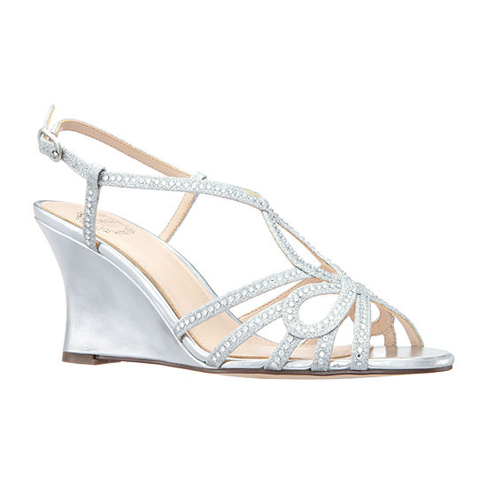 I Miller Shoes Womens Valora Wedge Sandals