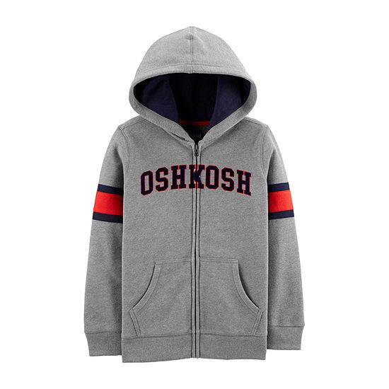 Oshkosh Boys Embroidered Hoodie-Preschool