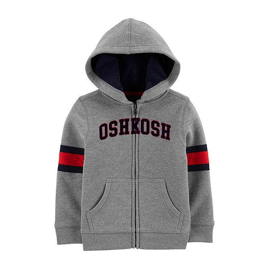 Oshkosh Boys Embroidered Hoodie-Toddler