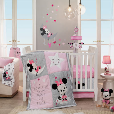 Disney Minnie Mouse 4-pc. Mickey Mouse Crib Bedding Set