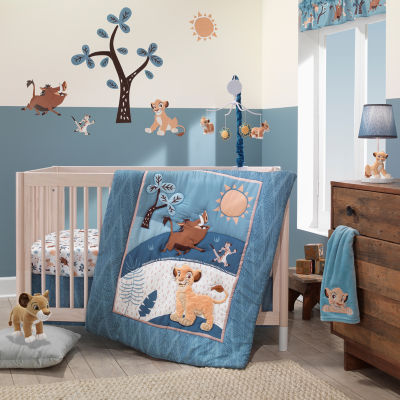 Disney Lion King Adventure 3-pc. The Lion King Crib Bedding Set