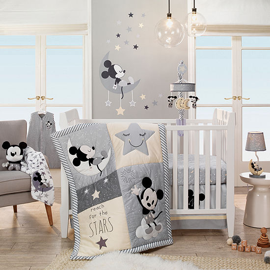 Disney Mickey Mouse 4-pc. Mickey Mouse Crib Bedding Set