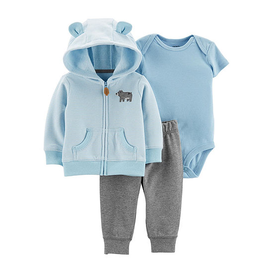 Carter's Boys 3-pc. Bodysuit Set-Baby