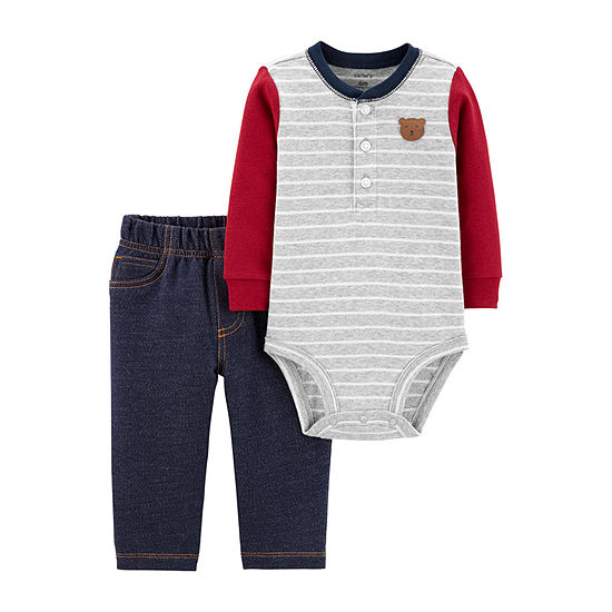 Carter's Boys 2-pc. Bodysuit Set-Baby