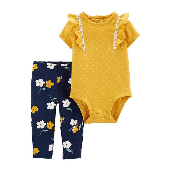 Carter's Girls 2-pc. Bodysuit Set-Baby