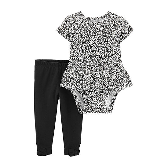 Carter's Baby Girls 2-pc. Bodysuit Set