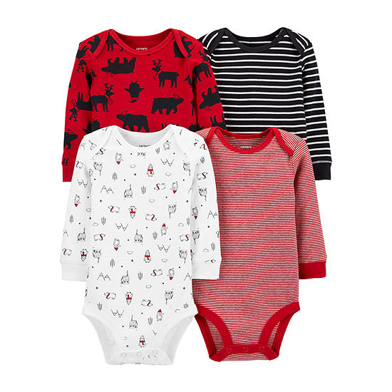 Carter's Bears-Baby Boys 4-pc. Bodysuit